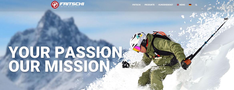 Fritschi Swiss Bindings - neuer Webauftritt