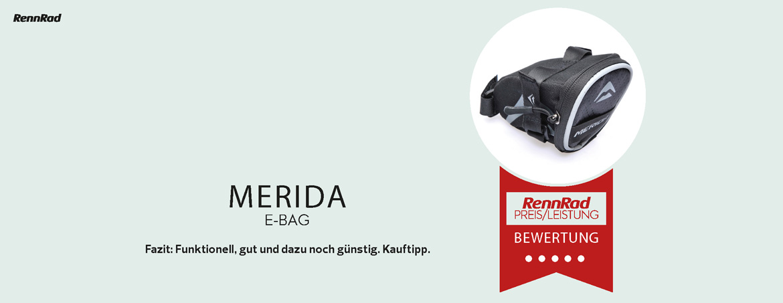 RennRad Testsieger: Merida E-Bag