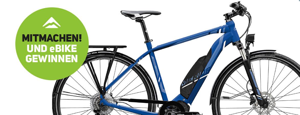 Merida E-Bike Gewinnspiel 2019