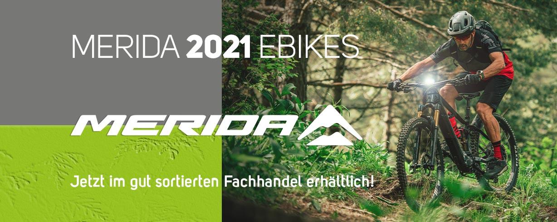 2021er Modelle von Merida