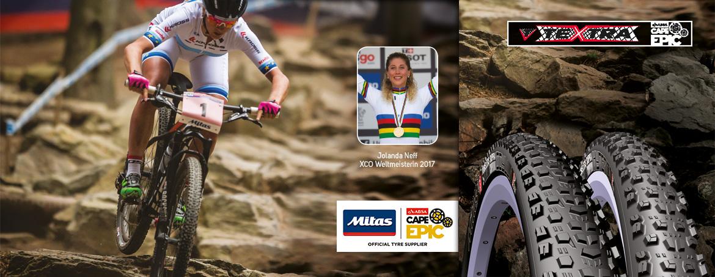 Mitas - Reifen der Weltmeisterin