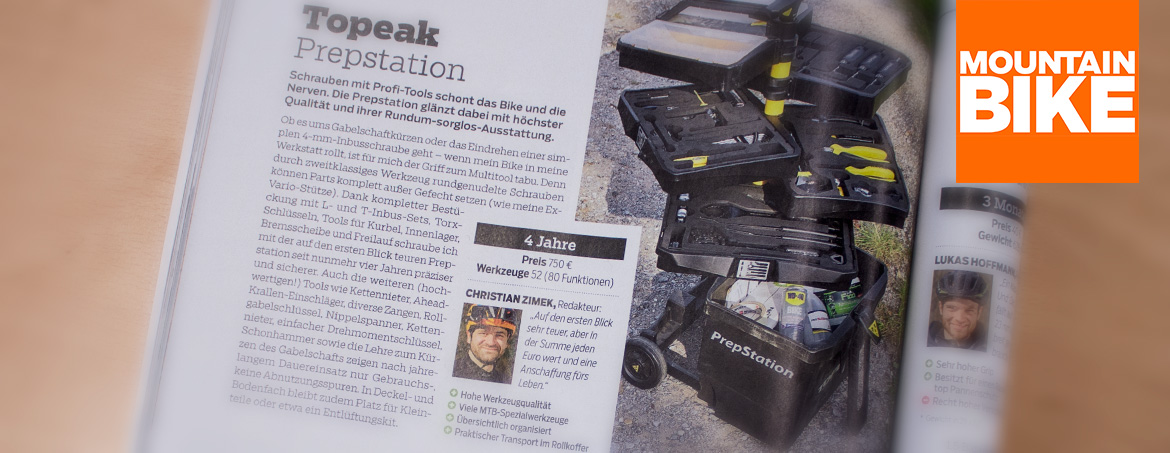 MOUNTAINBIKE Dauertest: Topeak Prepstation